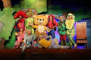 Kindertheater en animatie Sprookjescamping